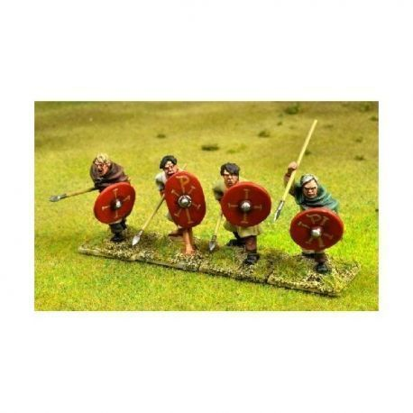 Romano British Spearmen Attacking