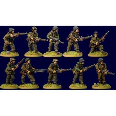 German Infantry Section (late war smocks)