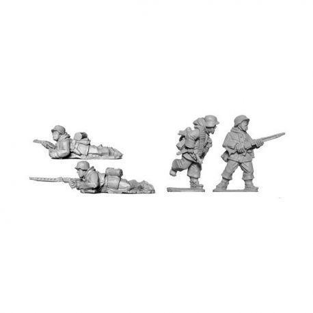 Late War German MG42 team (Winter)