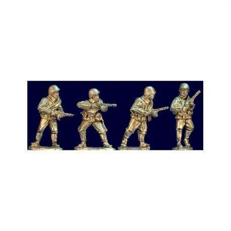 Soviet Riflemen with SMG (Helmets)