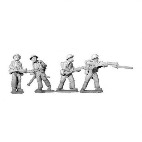 British 8th Army Riflemen