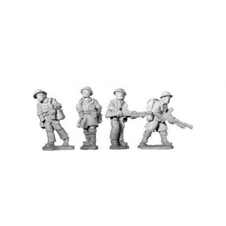 British 8th Army Bren Teams