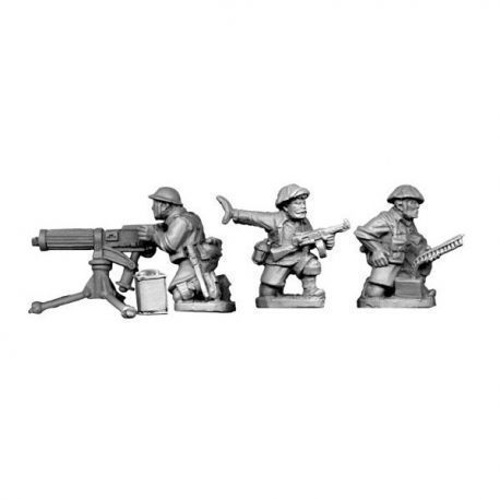 British 8th Army Vickers MMG