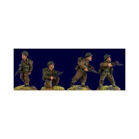 British and Commonwealth Sten Gun Teams