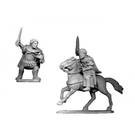 Hannibal on foot and mounted