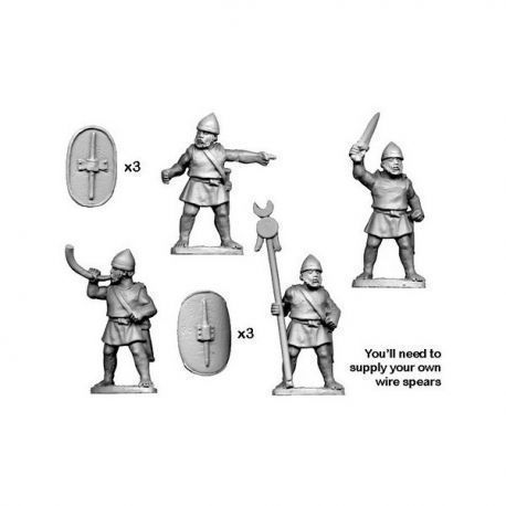 Numidian Command for Trained Infantry and Legionaries