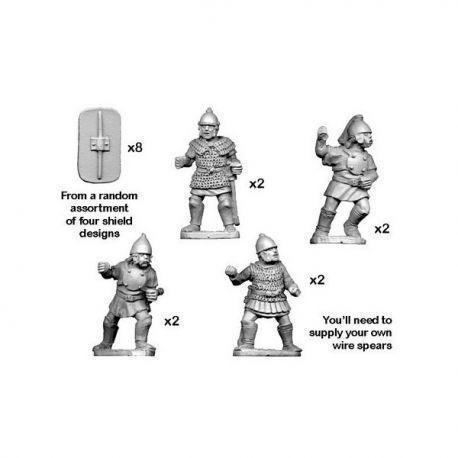 Celtiberian Warriors with Spear (8)
