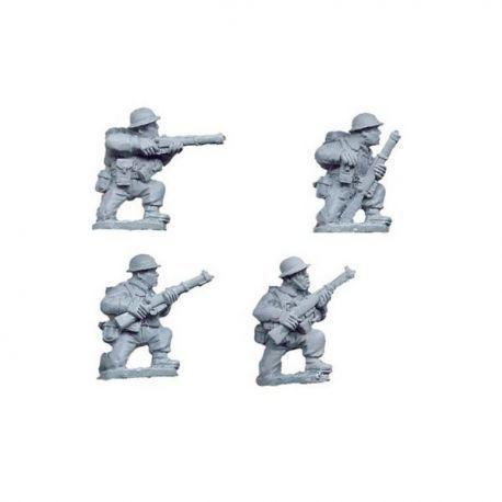 British Riflemen Kneeling (4 figs)
