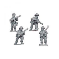 Late British Riflemen I (4 figs)