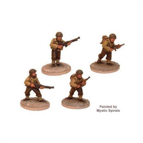 US Infantry BAR Teams (4 figs)