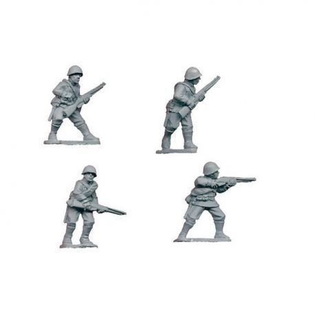 Russian Riflemen I (4 figs)