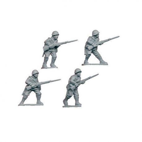 Russian riflemen II (4 figs)