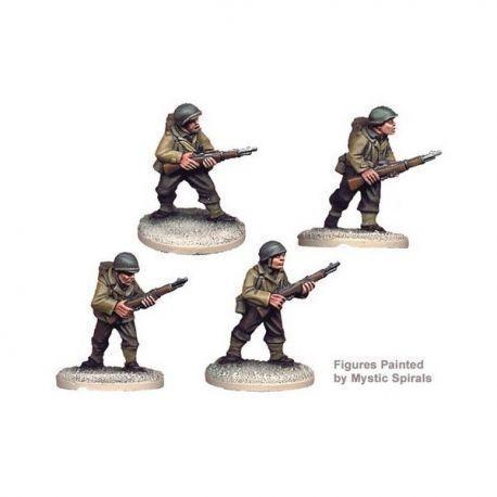 US Infantry Riflemen II (4 figs)