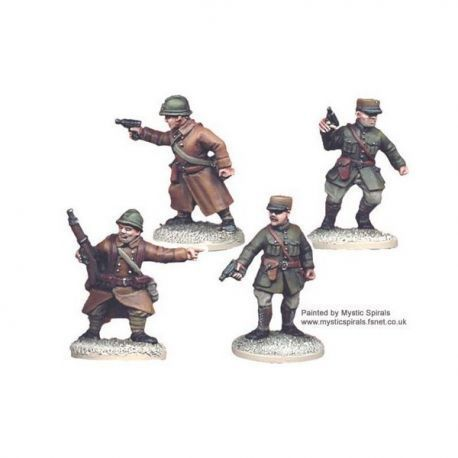 French Infantry Command (4 figs)