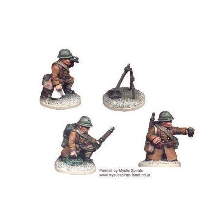 French 60mm Mortar+crew (1 mortar, 3 crew)