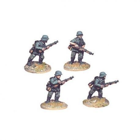 German Riflemen I (4 figs)