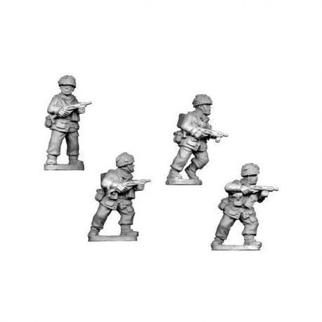 British Paratroopers Sten SMG