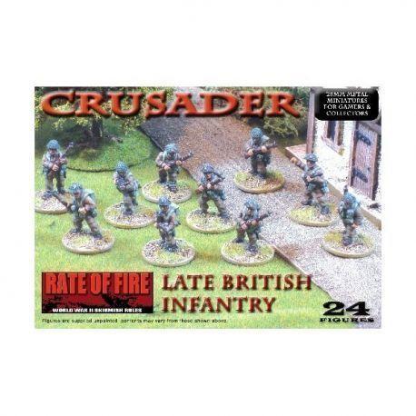 Late War British Infantry