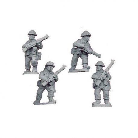 Late British Riflemen I (4 figs)
