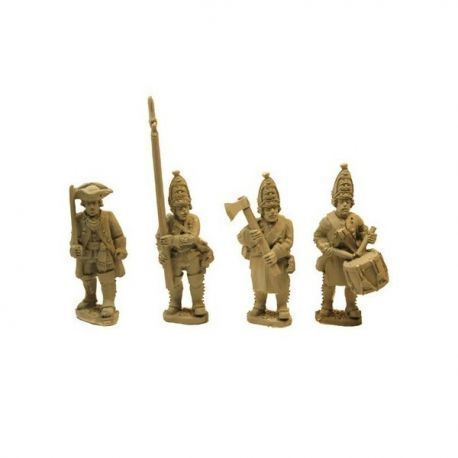 Prussian Grenadiers command - Lapels & Prussian cuffs (4)