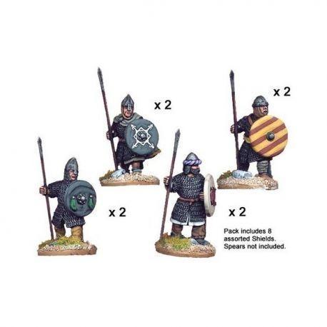 Spanish Spearmen in chain (8 figs)