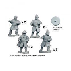 Unarmoured Spanish Spearmen (8 figs)