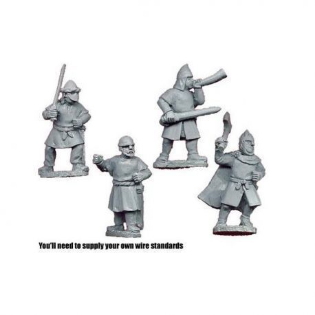Spanish Infantry Command (4 figs)