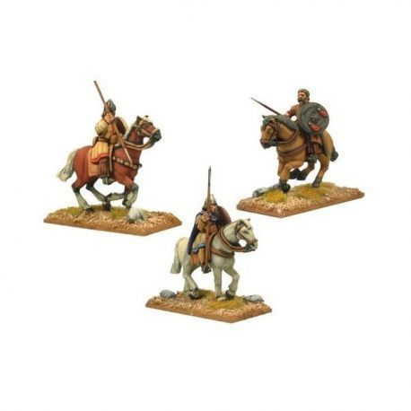 Spanish Light Cavalry with Spears (3 figs)