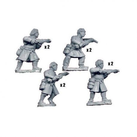 Unarmoured Spanish Crossbowmen (8)