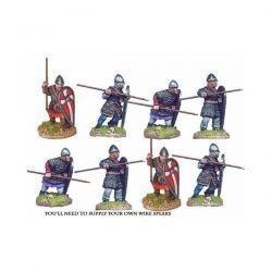 Norman Spearmen in Chain I (8 figs)