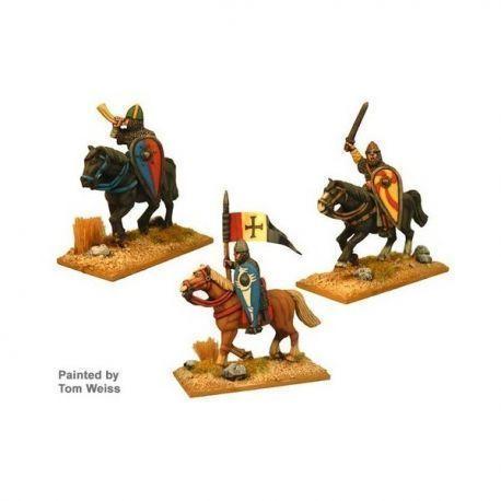 Norman Cavalry Command (3 cav figs)