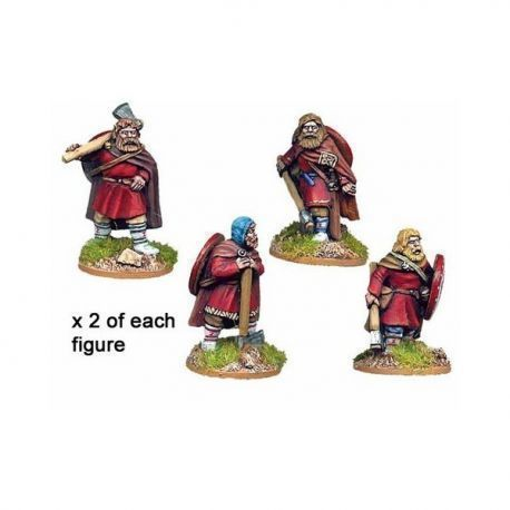Varangian Guard in Parade Dress (8 figures)