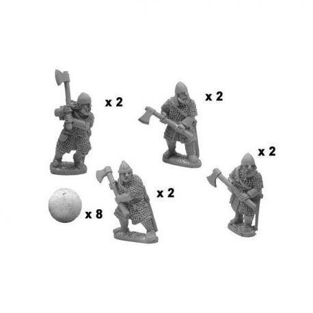 Varangian axemen in full armour (8)