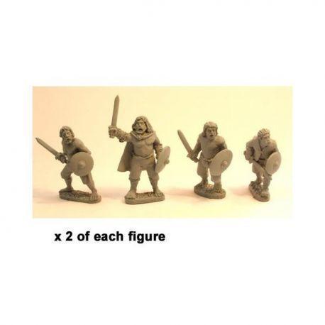 Irish Warriors with short sword & buckler (8)