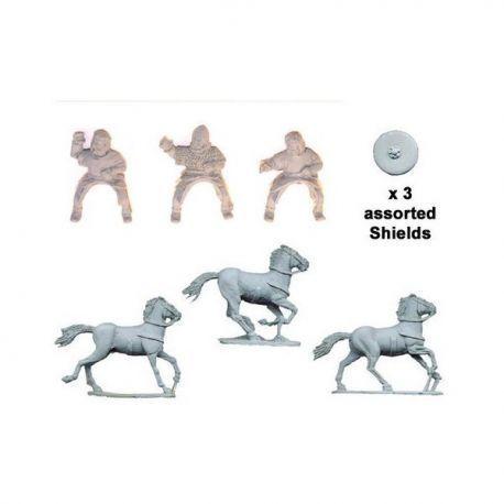 Mounted Irish Noble Warriors