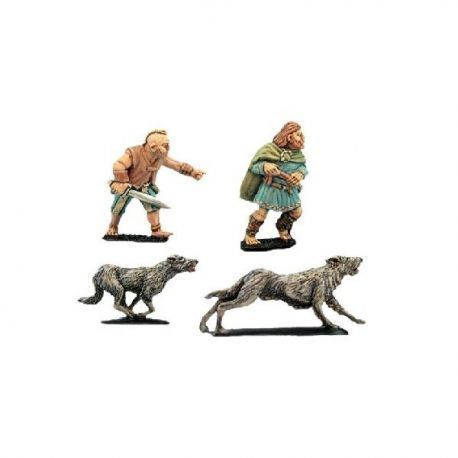 Packmaster and Hounds (2 men, 8 hounds)