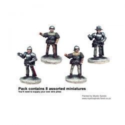 Wars of the Roses Armoured Pikemen (8)