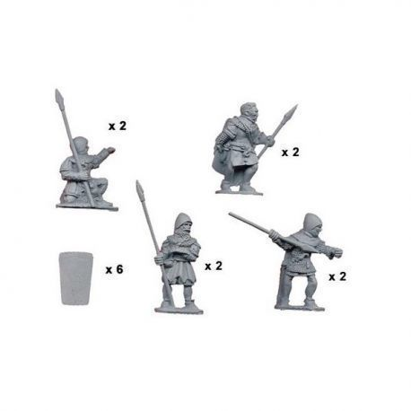 Spearmen with Pavisse (8)
