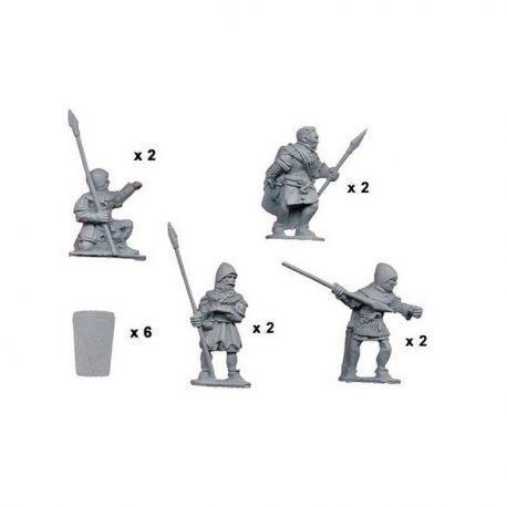 Spearmen with Pavisse (8)
