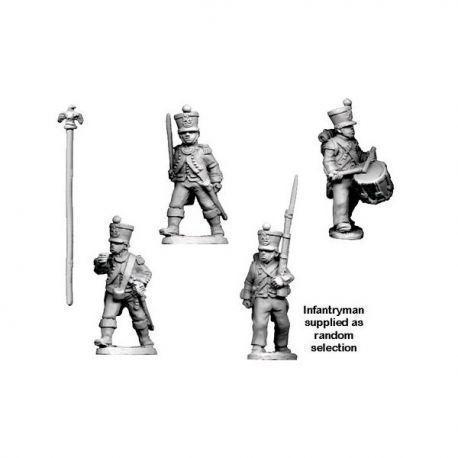 Napoleonic French - Infantry Command in Shako