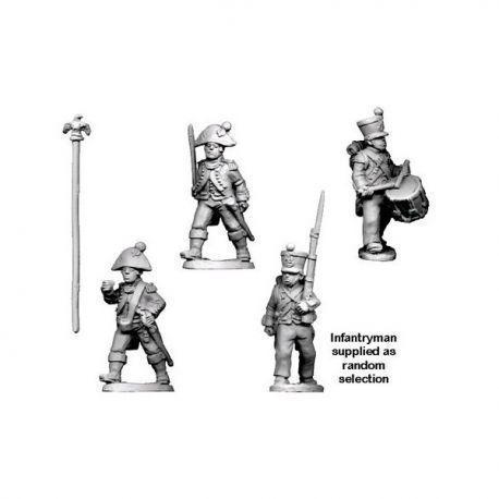 Napoleonic French - Infantry Command in Bicorne