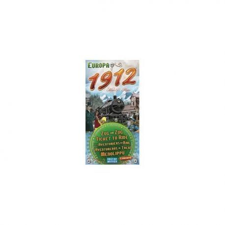 AVENTUREROS AL TREN - EUROPA 1912 - EXPANSION