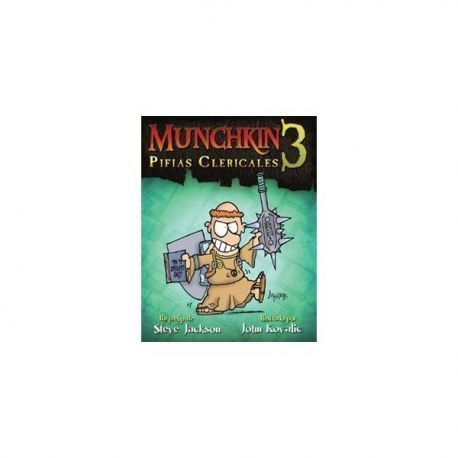 MUNCHKIN3: PIFIAS CLERICALES - JCNC