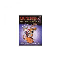 MUNCHKIN4: ¡QUE LOCURA DE MONTURA! - JCNC