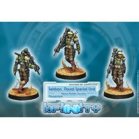 Sekban. Special Naval Unit (Heavy Rocket Launcher)
