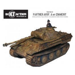 Panther Ausf A with Zimmerit