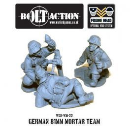 German Army 81mm Mortar Team