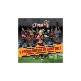 ZOMBICIDE: PRISON OUTBREAK GAME TILES