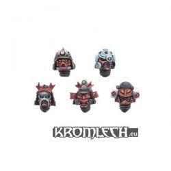 Cyber Samurai Heads (10)
