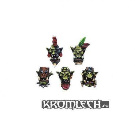 Savage Orcs Heads (10)